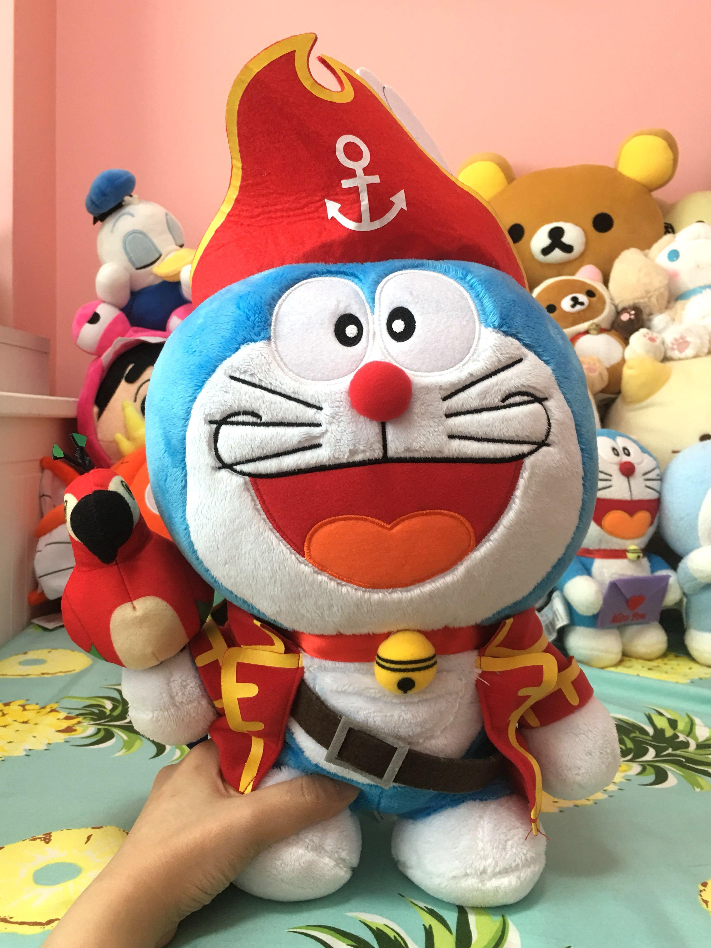 Pirate Doraemon Plush Toys Games Stuffed Toys On Carousell