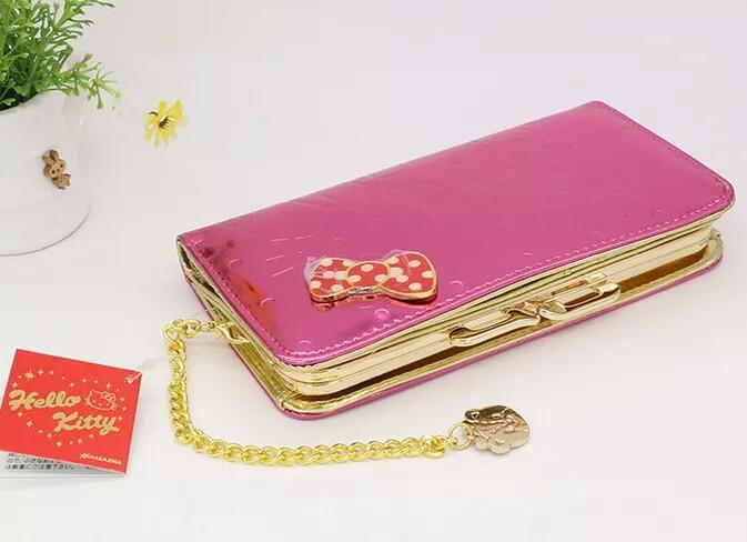 b526489ca PREORDER]Hello Kitty Neon Pink Long Wallet, Women's Fashion, Bags ...