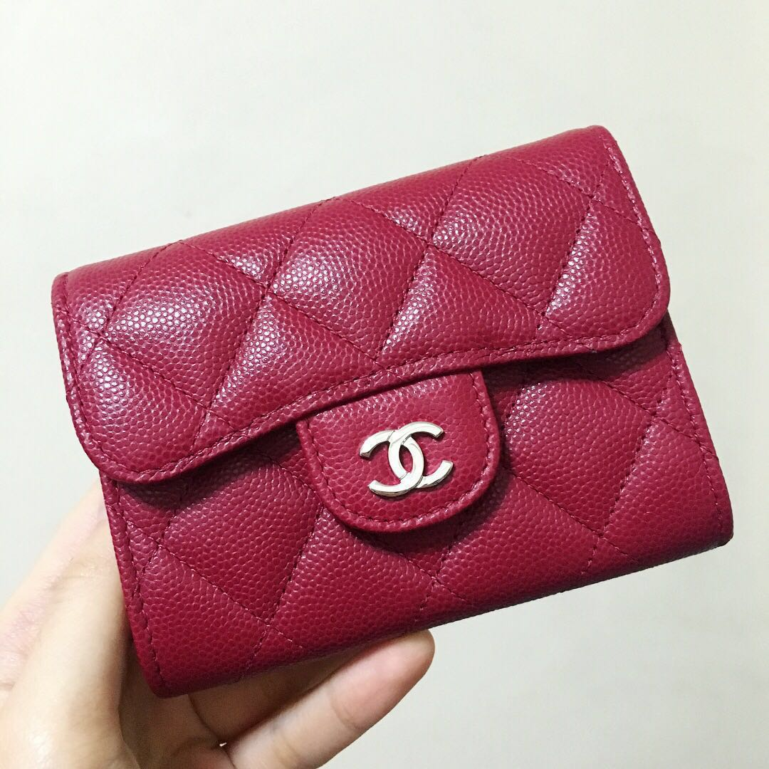 0a77d42541a6 RARE✨ BNIB Chanel XL Cardholder, Luxury, Bags & Wallets, Wallets on ...