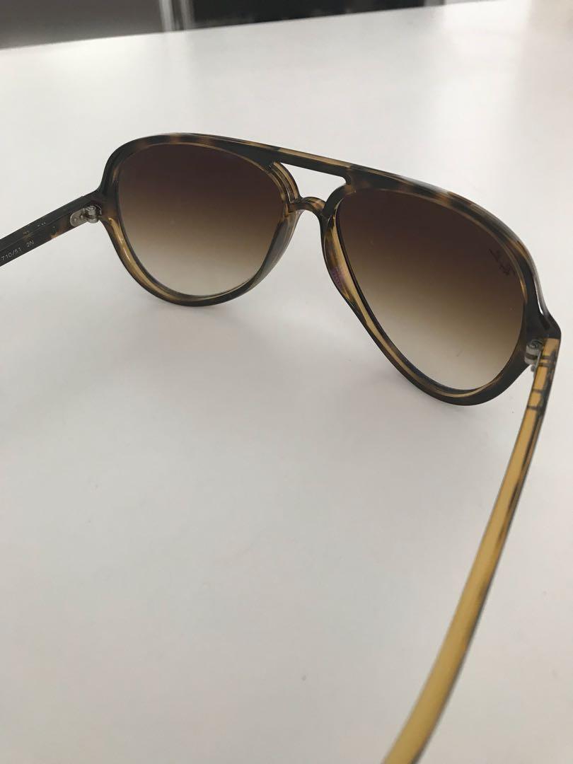 RayBan men's aviator sunglasses (tortoiseshell)