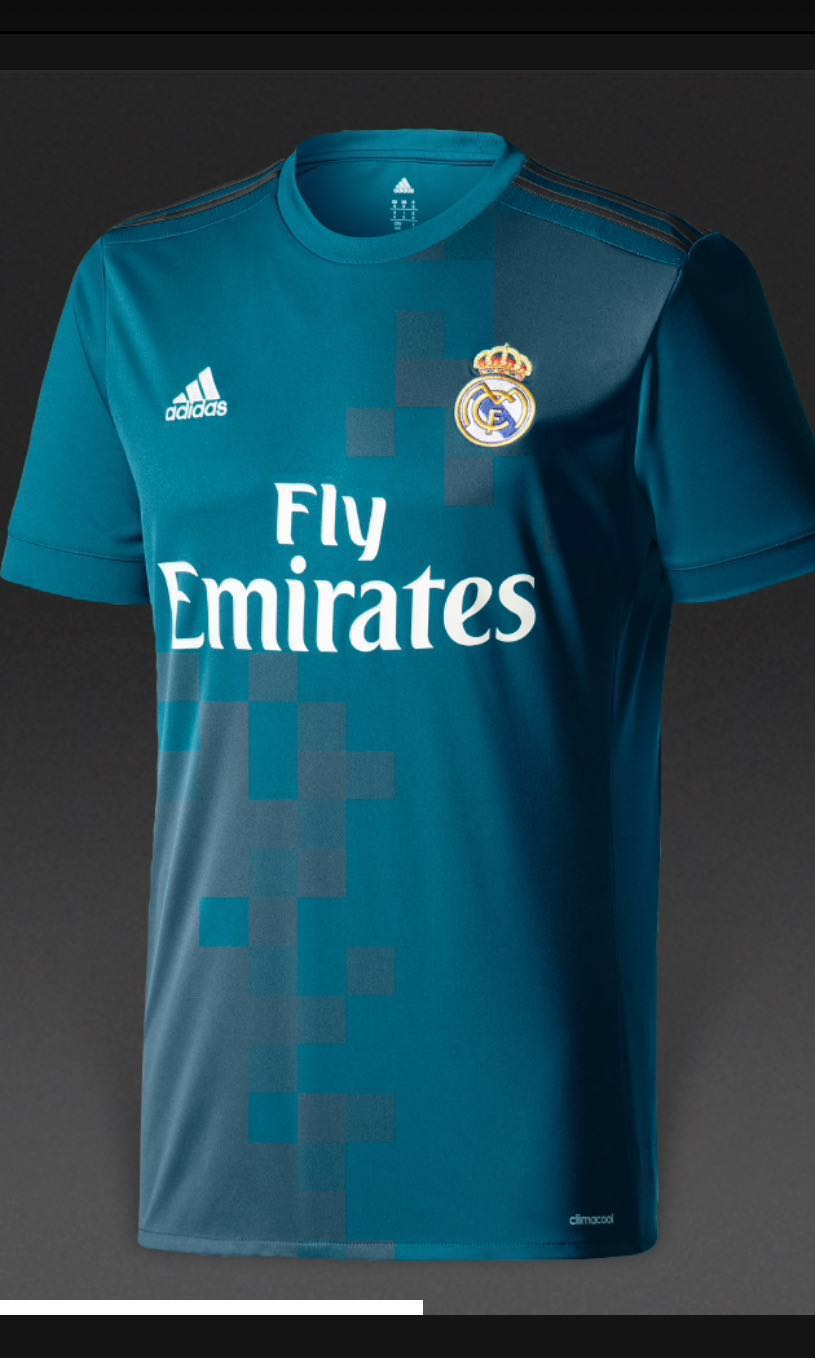 59c8e6053 Real Madrid ADIDAS 17-18 3rd Jersey