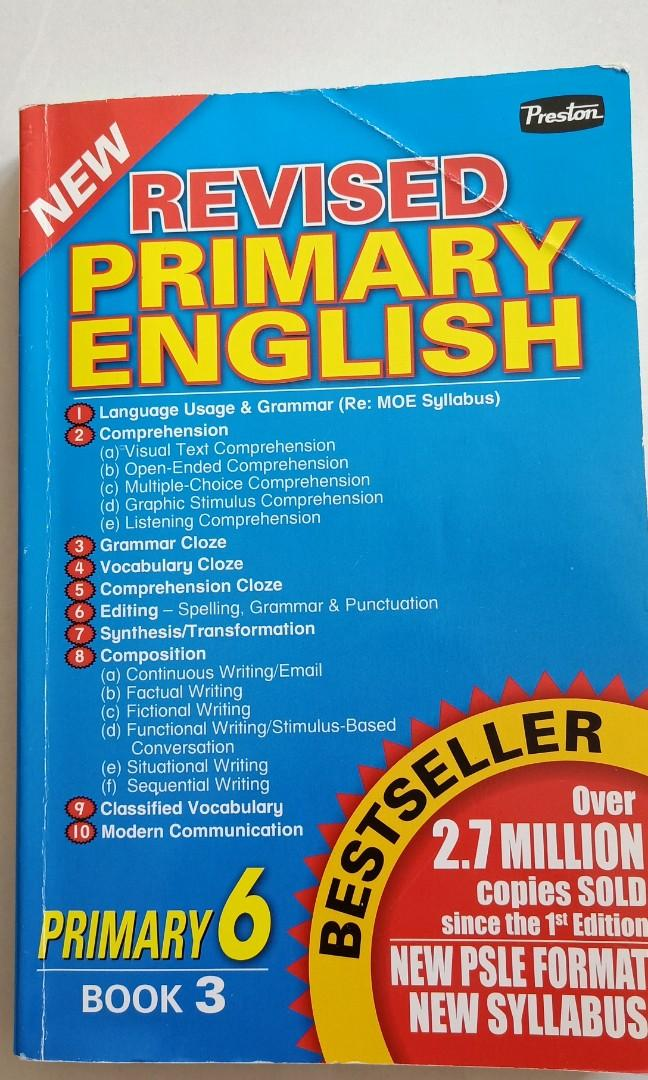 Revised Primary English- P6 book 3, Books & Stationery