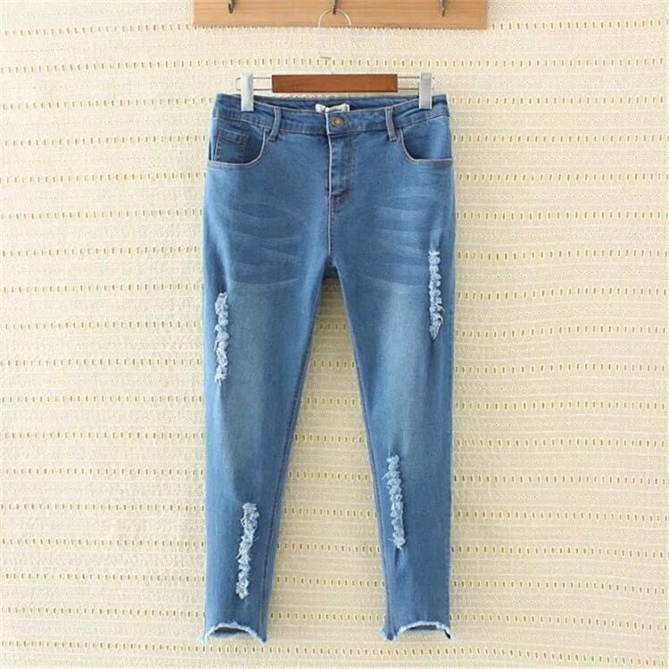 753d381ecf0 Ripped jeans (plus size)