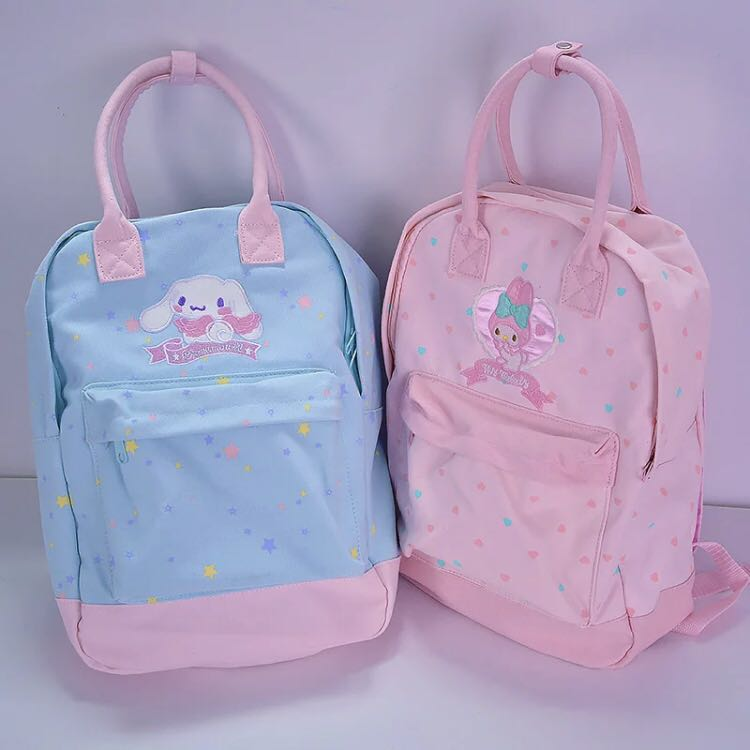 4b8b1505961f Sanrio pastel coloured backpack kanken design