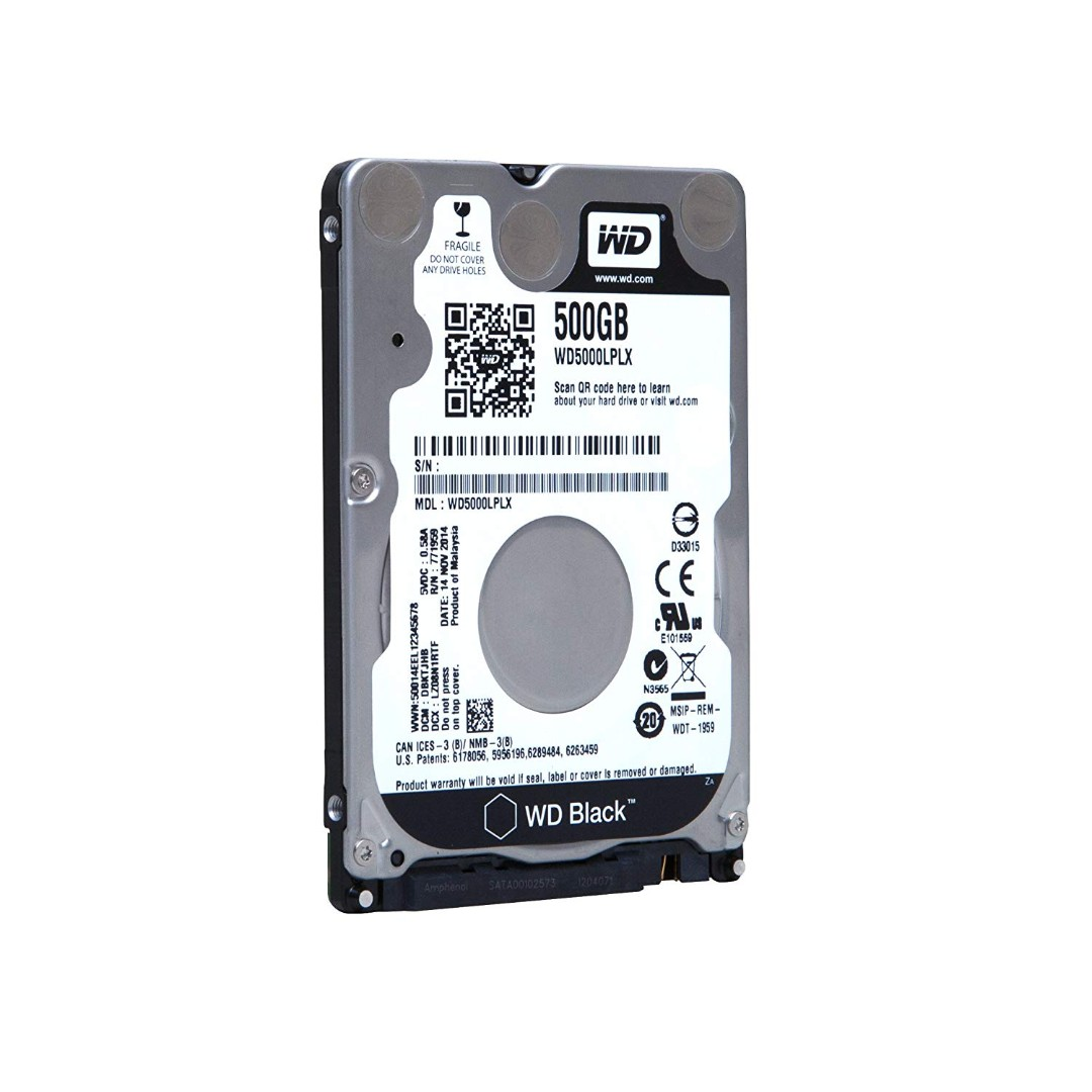 WD Black 500GB Performance Mobile Hard Disk Drive, Electronics, Computer Parts & Accessories on Carousell