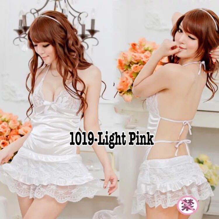 Women Lace Sexy-Lingerie Nightwear Underwear G-string Babydoll Sleepwear  Bra Set 826633208