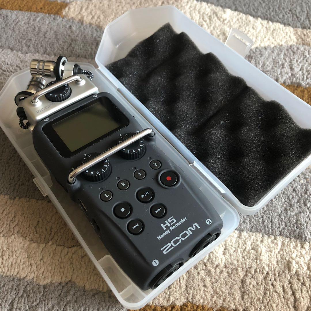ZOOM H5 Handy 4-Track Audio Recorder