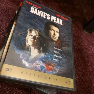 Dante's Peak region 2 DVD