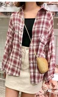 [Ready Stock] Checker Shirt