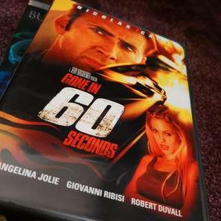Gone in 60 seconds Region 1 DVD