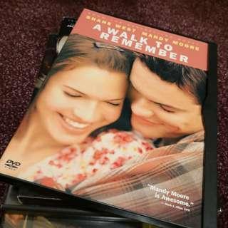 A Walk To Remember DVD Region 1