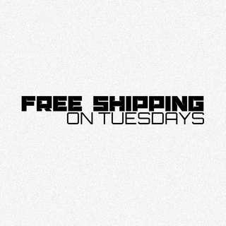FREE SHIPPING ON TUESDAYS THROUGHOUT OCTOBER!