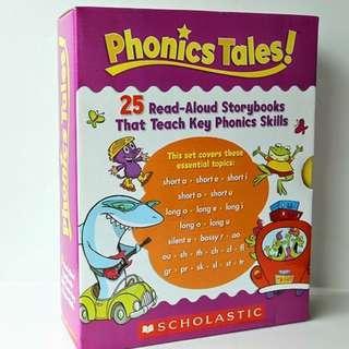 Phonics Tales : 25 Read-Aloud Storybooks That Teach Key Phonics Skills by Scholastic