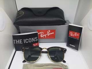 Rayban Clubmaster original by luxotica italy