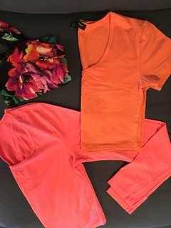 Crop tops set