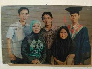 Cetak foto di kayu..wood printing
