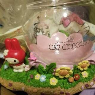 My melody陶瓷魚缸