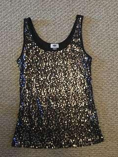 Old Navy sequin tank