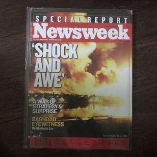 newsweek - bombing of baghdad - special report