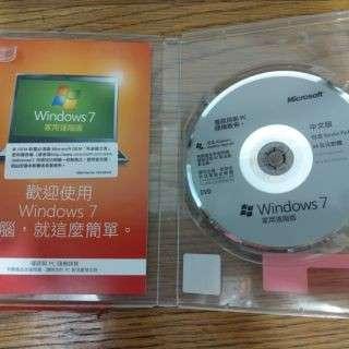 🚚 Win7 正版光碟沒序號