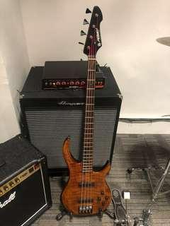 Peavy Millennium USA Plus Bass Guitar (with hard case) 美制低音結他