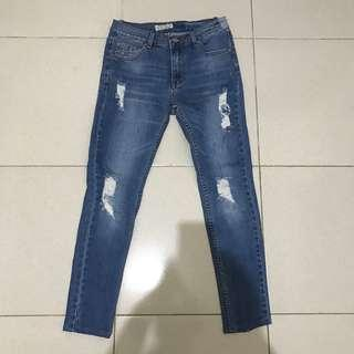 Odiva ripped jeans