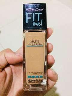 Maybelline fit me foundation (SHADE 322 WARM HONEY MIEL DOUX)