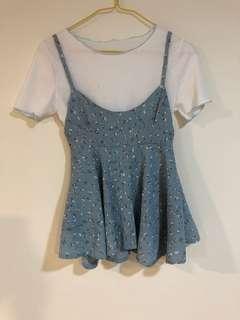 🚚 兩件式-小洋裝