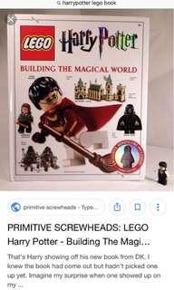 Harry Potter Lego book