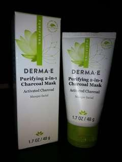 Derma E: Purifying 2-in-1 Charcoal Mask