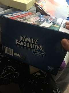 Hasbro family favourites mini board games set of 8