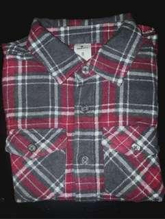 Urban Supply Flannel Chequered Shirt Boys Size 8