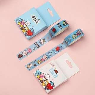 BTS BT21 mini washi tape (1pc)