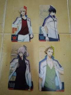 Prince of Stride Bookmarks