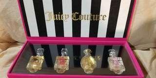 Juicy couture perfume mini set