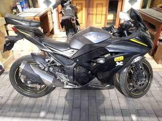 Kawasaki ninja 250 fi limited edition full ccessories