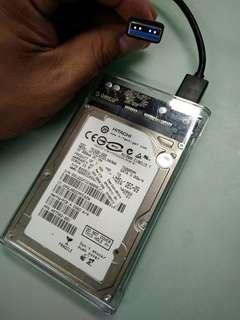 USB外置硬碟 Notebook hard disk 320g 7200rpm 2.5吋