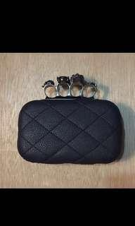 Skull Knuckle Clutch / Sling Bag
