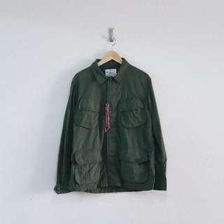 日本 軍裝 / Alpha Industries x Urban Research M65 限量聯名 軍裝外套 USA