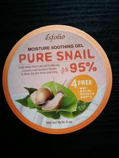 Esfolio: 95% Pure Snail Soothing Gel