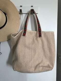 Gap tote beach bag
