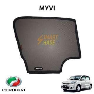 Perodua Myvi (Year 06-11) Simart Shade Premium Magnetic Sunshade