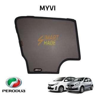 Perodua Myvi (Year 12-17) Simart Shade Premium Magnetic Sunshade