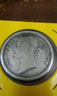 Rare Old Coins, East India Company. Years 1840