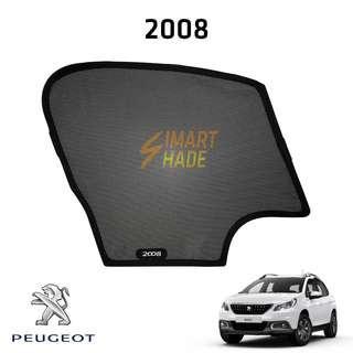 Peugeot 2008 Simart Shade Premium Magnetic Sunshade