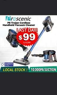 [INTRODUCTORY OFFER!] Proscenic P8 Trojan Cordless Handheld Vacuum Cleaner
