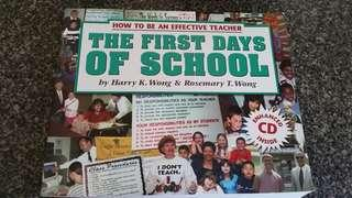 Harry Wong's The first day of school