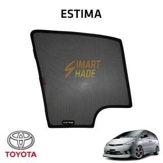 Toyota Estima (ACR30) Simart Shade Premium Magnetic Sunshade