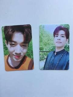 Day6 shoot me photocards