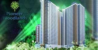 10% Down Payment Ready to Move in - FOR INVESTMENT 2BR - 37.5SQM. RENT TO OWN CONDO PIONEER WOODLANDS, NR MRT-BONI  & ROBINSONS FORUM, manila, pasig, taguig, makati, mandaluyong, quezon city